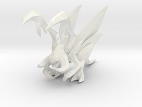 1/35 Kerrigan Zergling in White Natural Versatile Plastic