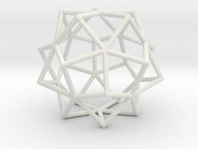 Kosudama Frame in White Strong & Flexible