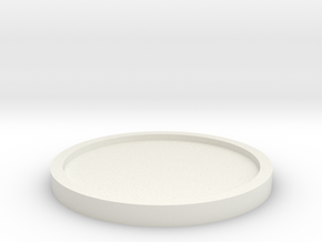 Coaster Basic Thin in White Strong & Flexible
