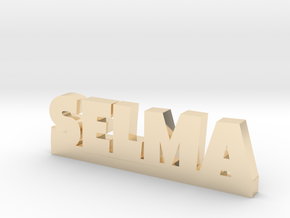 SELMA Lucky in 14k Gold Plated Brass
