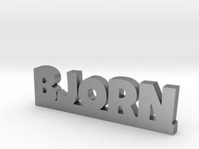 BJORN Lucky in Natural Silver