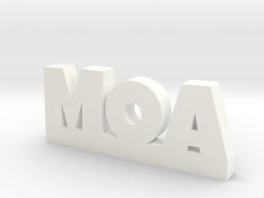 MOA Lucky in White Processed Versatile Plastic