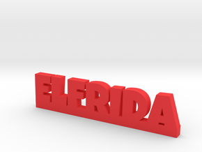 ELFRIDA Lucky in Red Processed Versatile Plastic