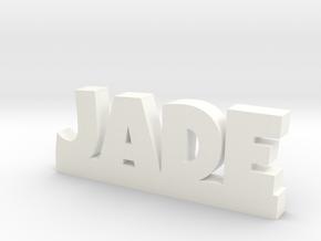 JADE Lucky in White Processed Versatile Plastic