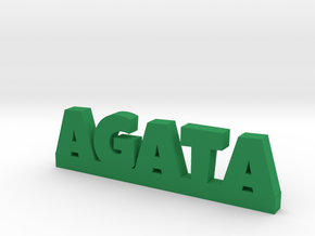 AGATA Lucky in Green Strong & Flexible Polished