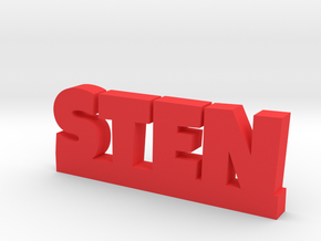 STEN Lucky in Red Strong & Flexible Polished