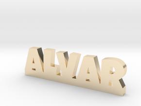 ALVAR Lucky in 14k Gold Plated Brass