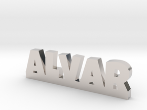 ALVAR Lucky in Rhodium Plated Brass