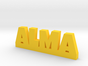ALMA Lucky in Yellow Strong & Flexible Polished