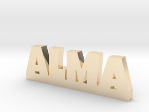 ALMA Lucky in 14k Gold Plated Brass