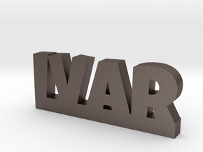 IVAR Lucky in Polished Bronzed Silver Steel