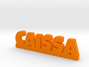 CAISSA Lucky in Orange Strong & Flexible Polished