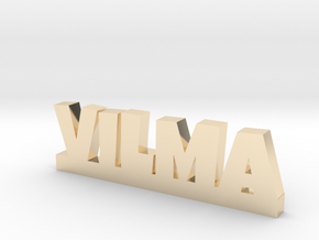 VILMA Lucky in 14k Gold Plated Brass