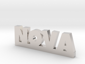 NOVA Lucky in Rhodium Plated Brass