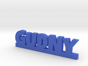 GUDNY Lucky in Blue Processed Versatile Plastic