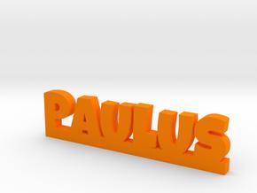 PAULUS Lucky in Orange Processed Versatile Plastic