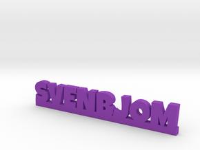 SVENBJOM Lucky in Purple Processed Versatile Plastic