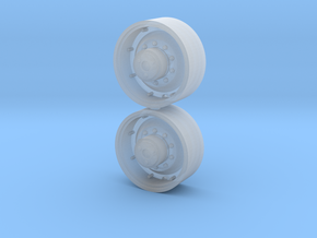 1/64 Scale 30 Inch FWA Wheel in Frosted Ultra Detail
