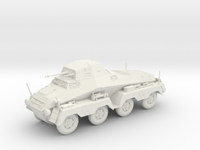 VA Sd.kfz 231 8 rad 1:48 28mm wargames in White Strong & Flexible