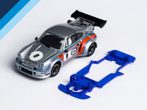 1/32 Carrera Porsche RSR Chassis for Slot.it AW in Blue Processed Versatile Plastic