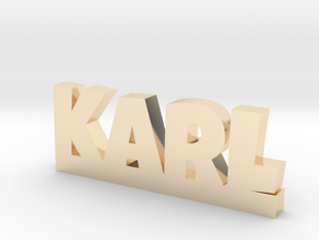 KARL Lucky in 14k Gold Plated Brass
