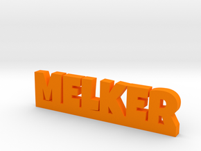 MELKER Lucky in Orange Processed Versatile Plastic