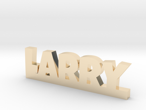 LARRY Lucky in 14k Gold Plated Brass