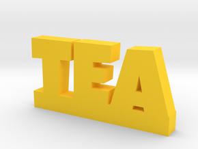 TEA Lucky in Yellow Processed Versatile Plastic