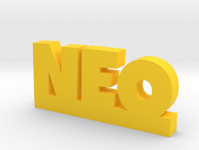 NEO Lucky in Yellow Processed Versatile Plastic