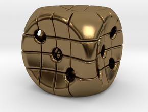 The Net D6 in Polished Bronze