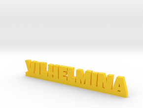 VILHELMINA Lucky in Yellow Strong & Flexible Polished