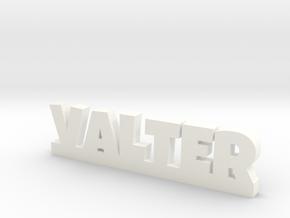 VALTER Lucky in White Processed Versatile Plastic