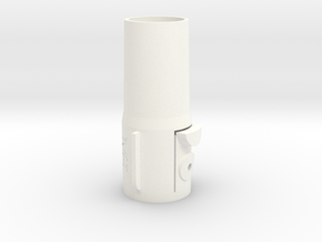For Dyson V8 Adapter 32mm 'Standard' tools in White Strong & Flexible Polished