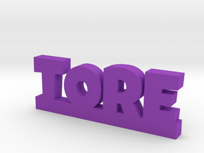 TORE Lucky in Purple Processed Versatile Plastic