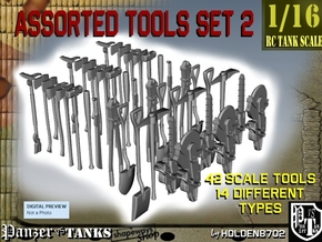 1-16 Assorted Tools Set2 in Smooth Fine Detail Plastic