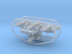E-2C w/gear x4 (FUD) in Smooth Fine Detail Plastic: 1:500