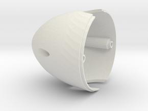 Dens Spinner 2 Blade in White Natural Versatile Plastic