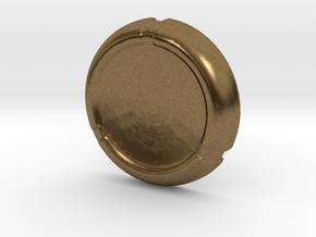 Kanoka disk in Natural Bronze