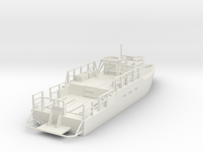 CB-90H / Riverine Control Boat ~HO Scale (1/72) V1 in White Natural Versatile Plastic