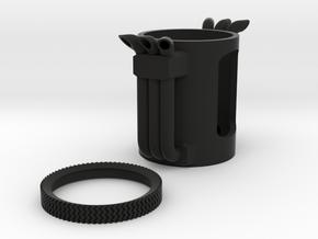 BFT Smoke Stacks in Black Natural Versatile Plastic