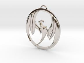 Storm Hawks  in Rhodium Plated Brass