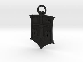 Honor Knight Emblem A 70mm in Black Natural Versatile Plastic