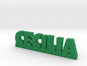 CECILIA Lucky in Green Processed Versatile Plastic