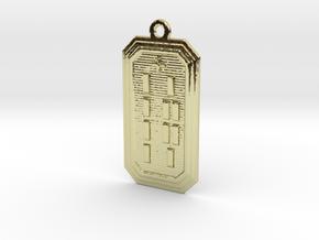 ODILOGBE in 18k Gold Plated Brass