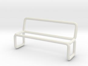 Bench scale 1-100 in White Natural Versatile Plastic: 1:100