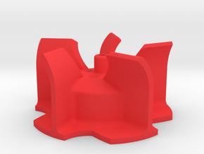 Wurfrad Bruder Schneeschleuder in Red Processed Versatile Plastic