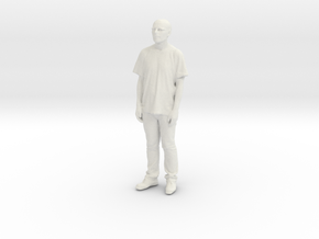 Printle C Homme 080 - 1/35 - wob in White Natural Versatile Plastic