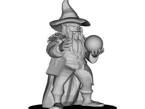 Dwarf Wizard in White Strong & Flexible