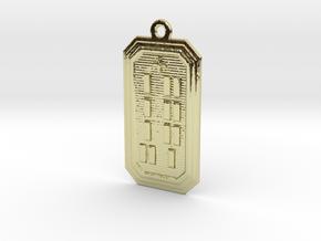OKANAOGUNDA in 18k Gold Plated Brass