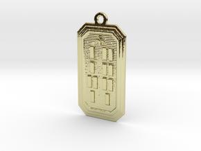 OKANAWETE in 18k Gold Plated Brass